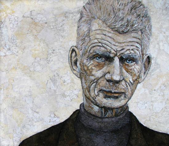 Beckett portrait copy