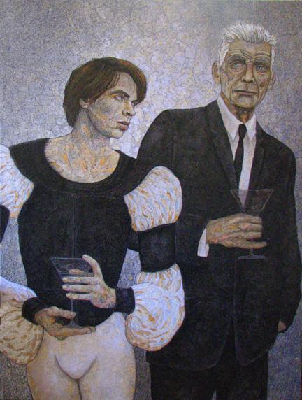 Beckett's Party (panel 1)